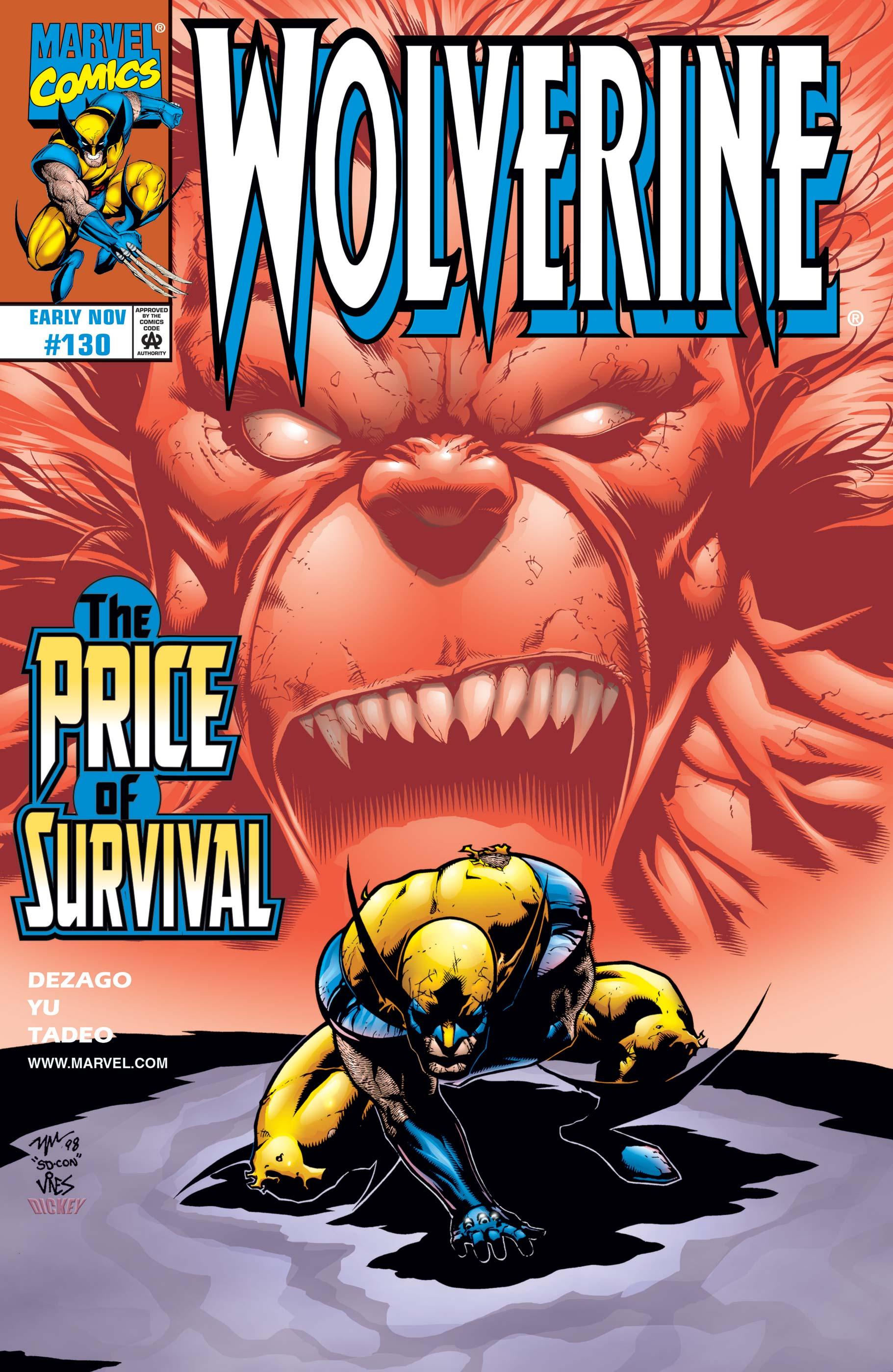 Wolverine (1988) #130