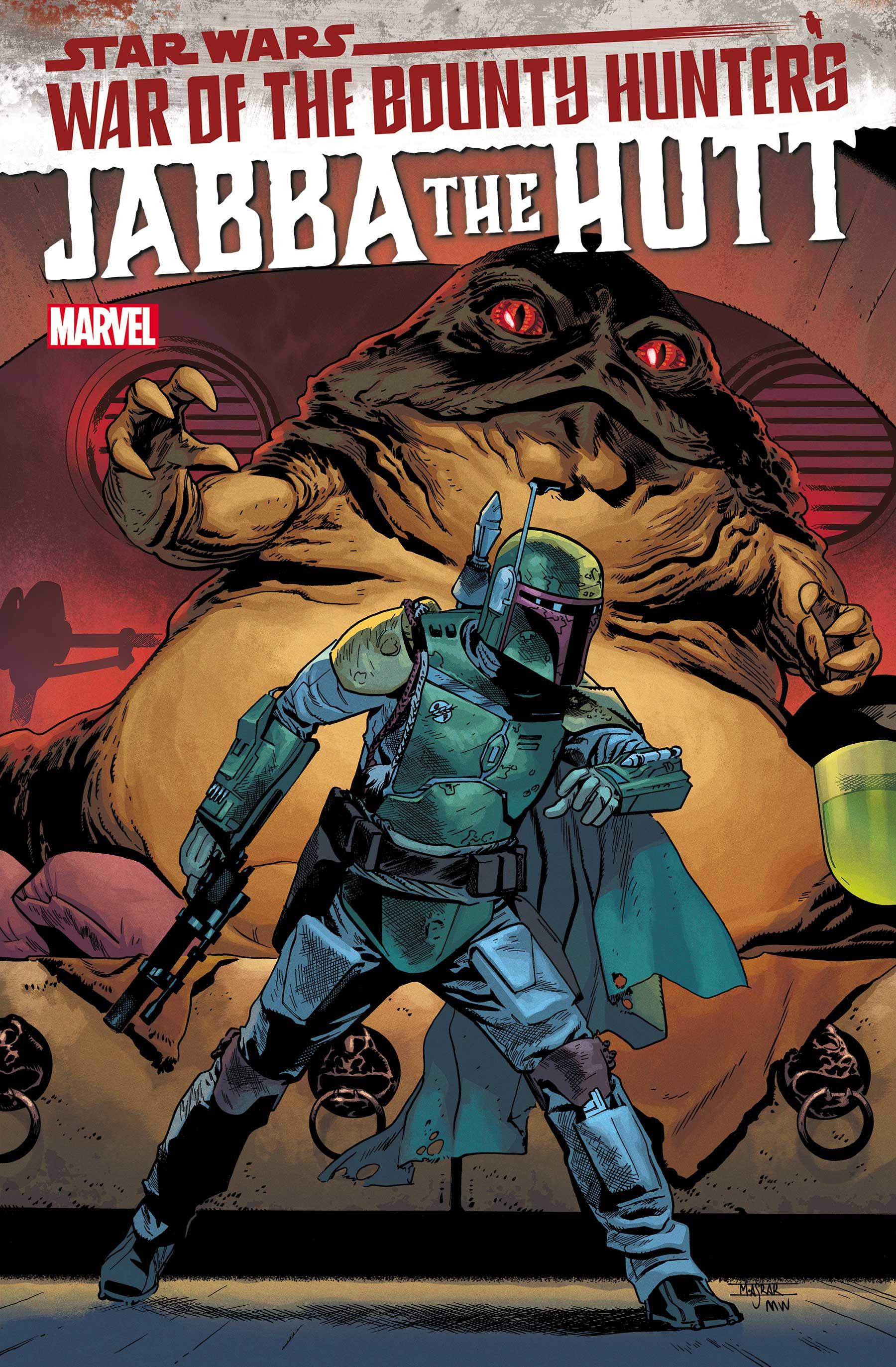 STAR WARS: WAR OF THE BOUNTY HUNTERS - JABBA THE HUTT 1 (2021) #1