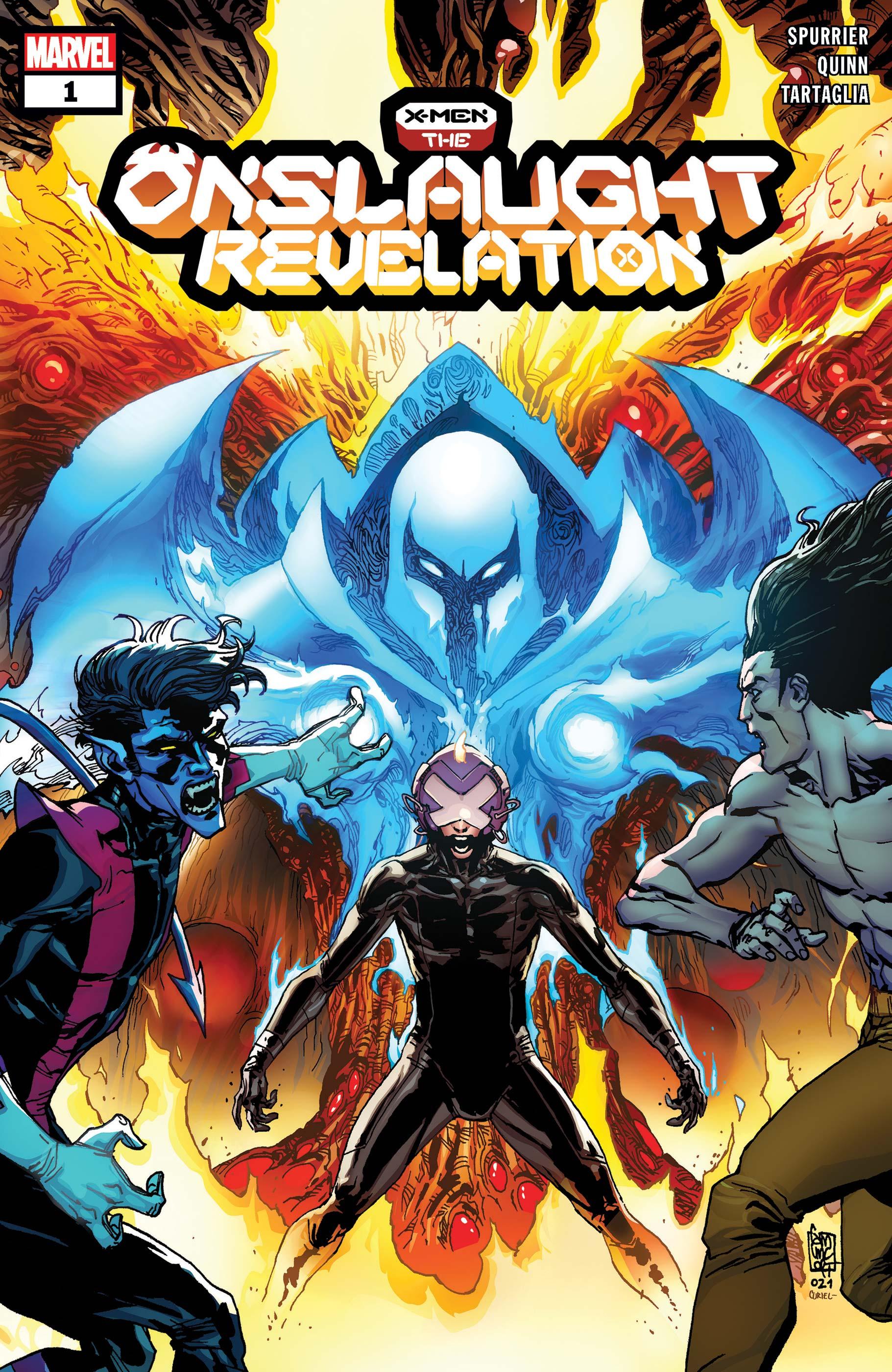 X-Men: The Onslaught Revelation  (2021) #1
