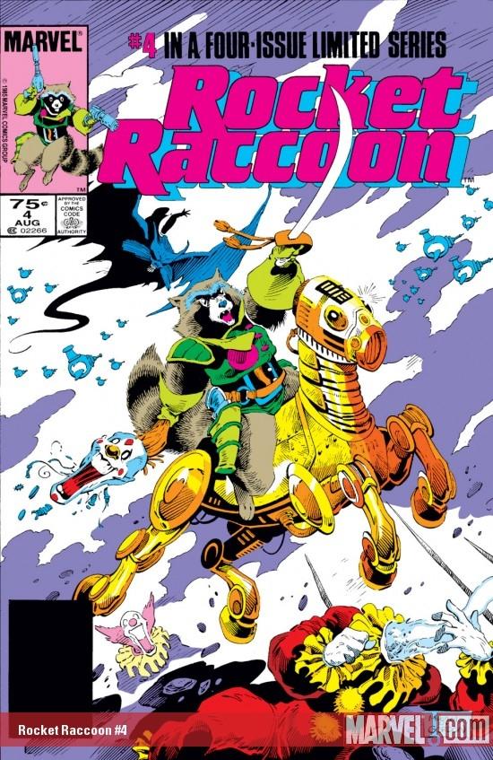Rocket Raccoon (1985) #4