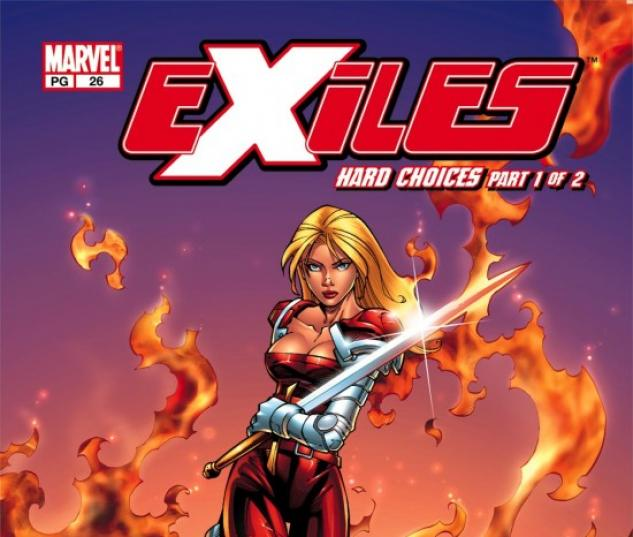 EXILES (2008) #26 COVER