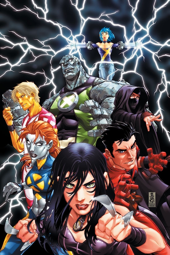 New X-Men: Childhood's End Vol. 1 (Trade Paperback)