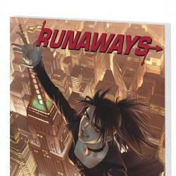 RUNAWAYS VOL. 5: ESCAPE TO NEW YORK COVER