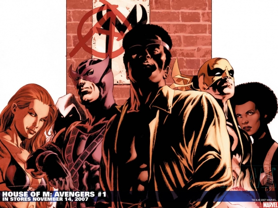 House of M: Avengers (2007) #1 Wallpaper