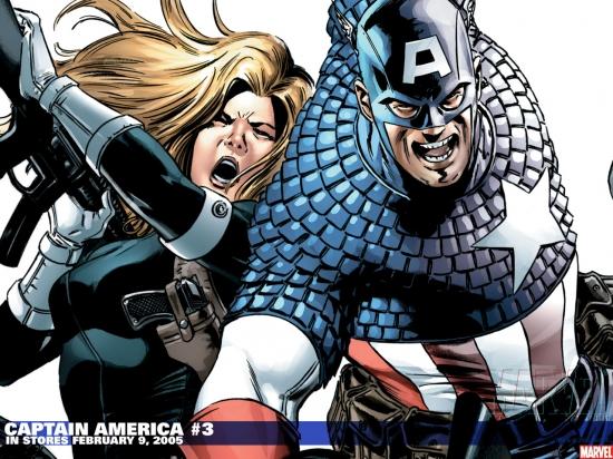 Captain America (1996) #3 Wallpaper