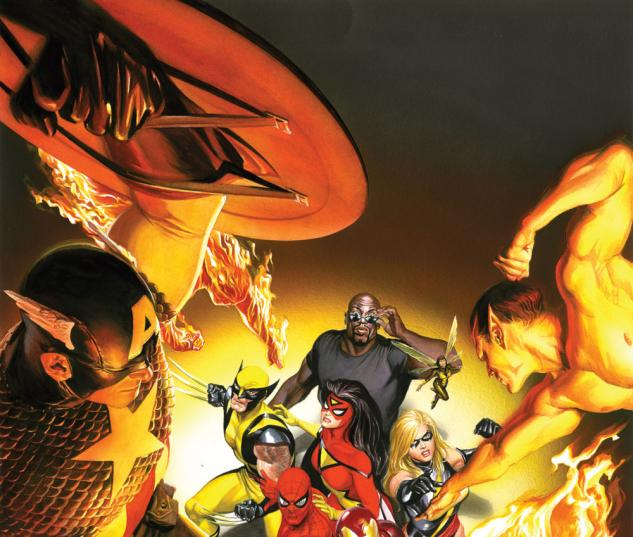 AVENGERS/INVADERS ALEX ROSS #0