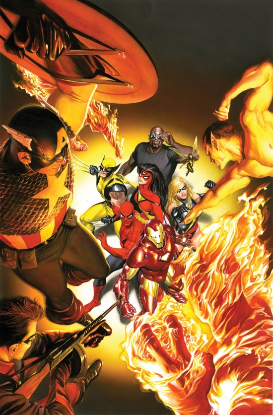 Avengers/Invaders Alex Ross (2008)