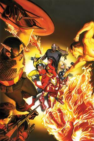 Avengers/Invaders Alex Ross (2008)