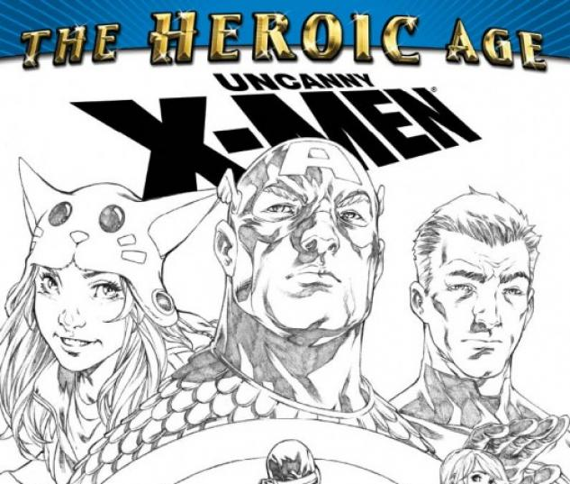 Uncanny X-Men: The Heroic Age (2010) #1 (2ND PRINTING VARIANT)