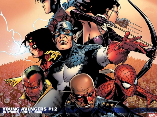 Young Avengers (2005) #12 Wallpaper
