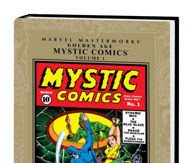 Marvel Masterworks: Golden Age Mystic Comics Vol. 1 HC
