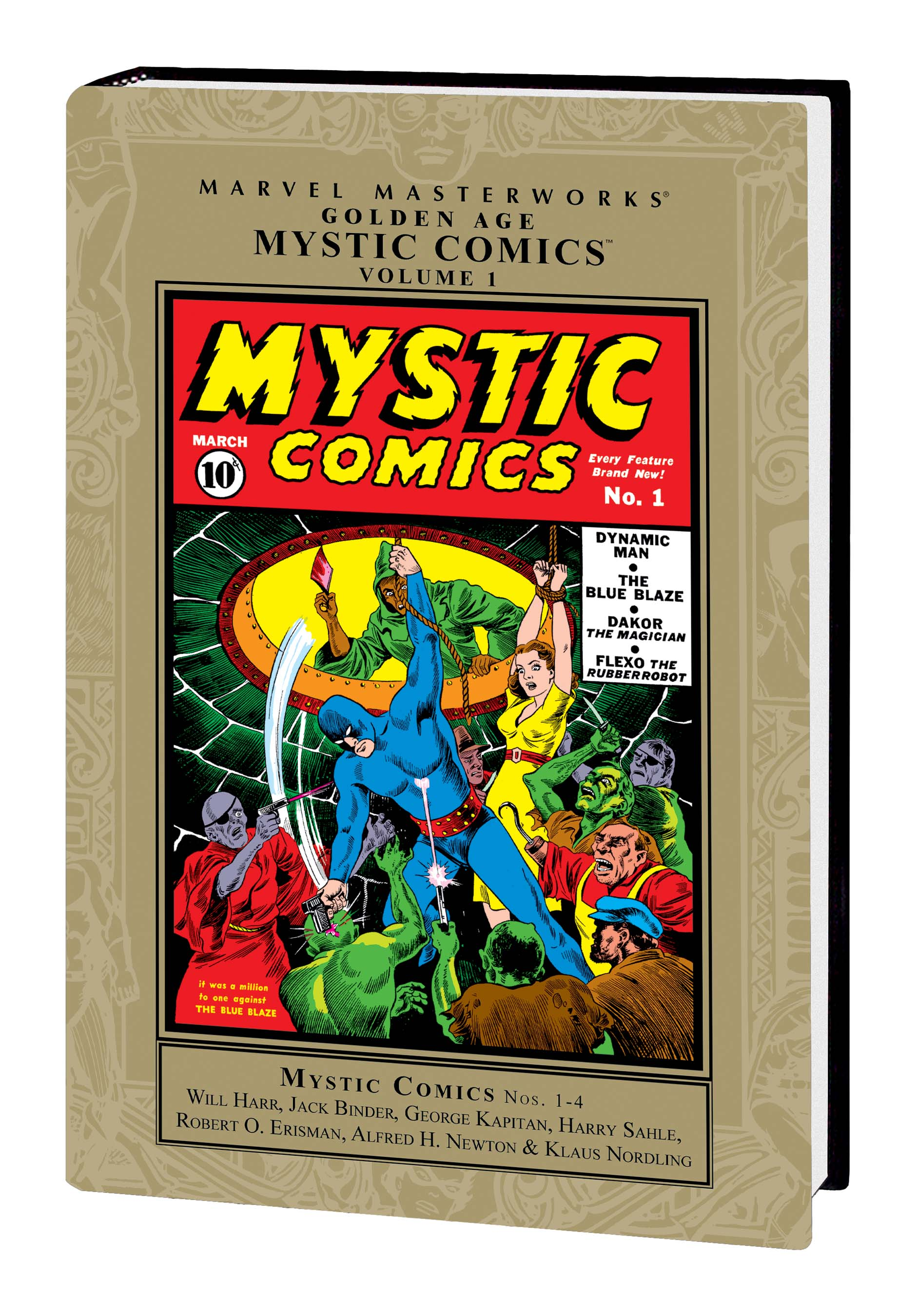 Marvel Masterworks: Golden Age Mystic Comics Vol. 1 (Hardcover)
