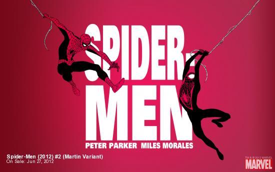 Spider-Men (2012) #2 (Martin Variant)