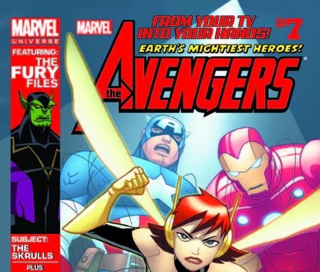 MARVEL UNIVERSE AVENGERS EARTH'S MIGHTIEST HEROES 7