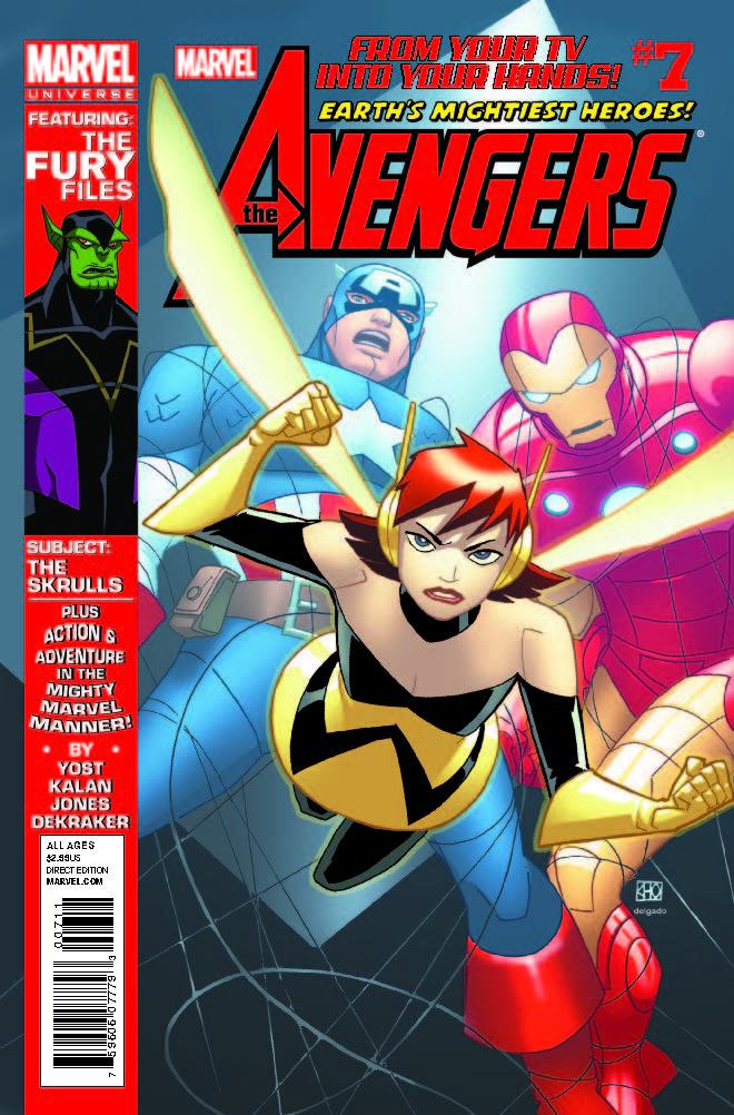 Marvel Universe Avengers: Earth's Mightiest Heroes (2012) #7