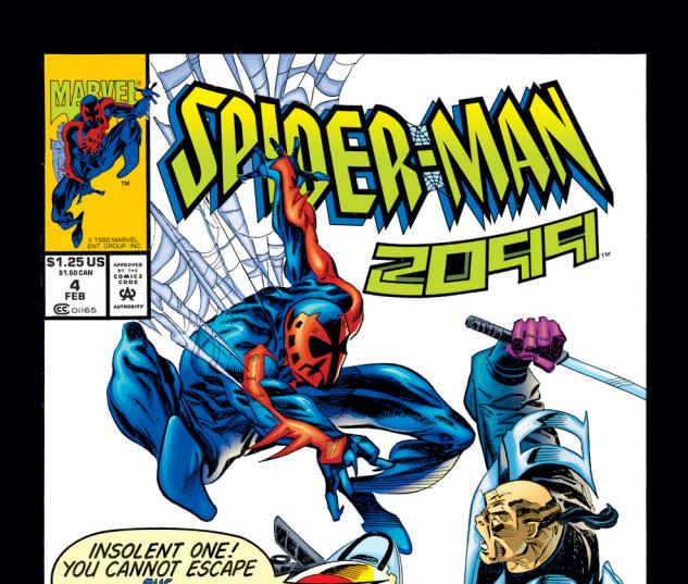 Spider-Man 2099 (1992) #4 Cover