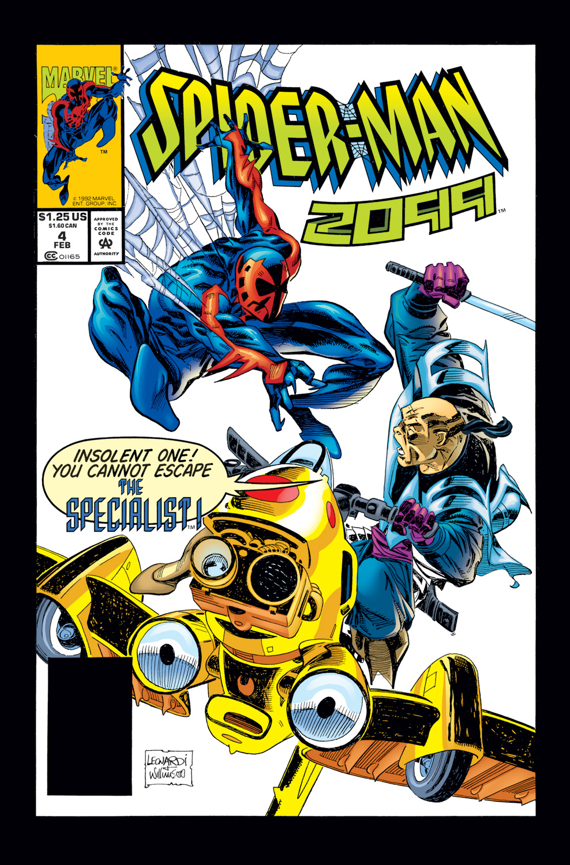Spider-Man 2099 (1992) #4