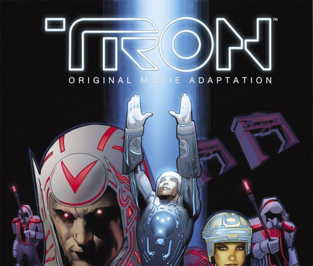 Tron: Original Movie Adaptation (2010) #1 Cover