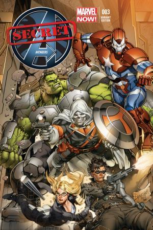 Secret Avengers (2013) #3 (Eaglesham Variant)