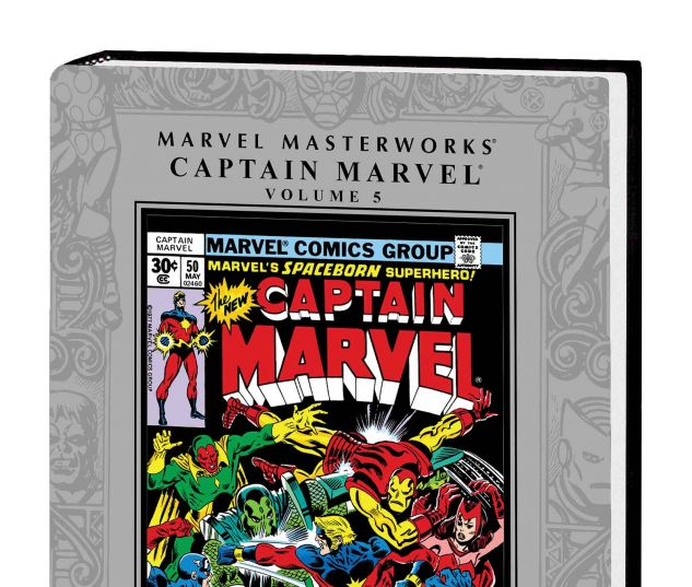 MARVEL MASTERWORKS: CAPTAIN MARVEL VOL. 5 HC