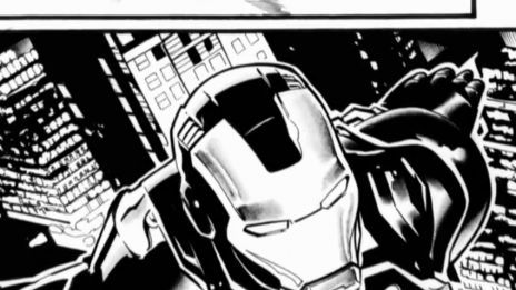 Marvel AR: Iron Man #1 Art Evolution 2
