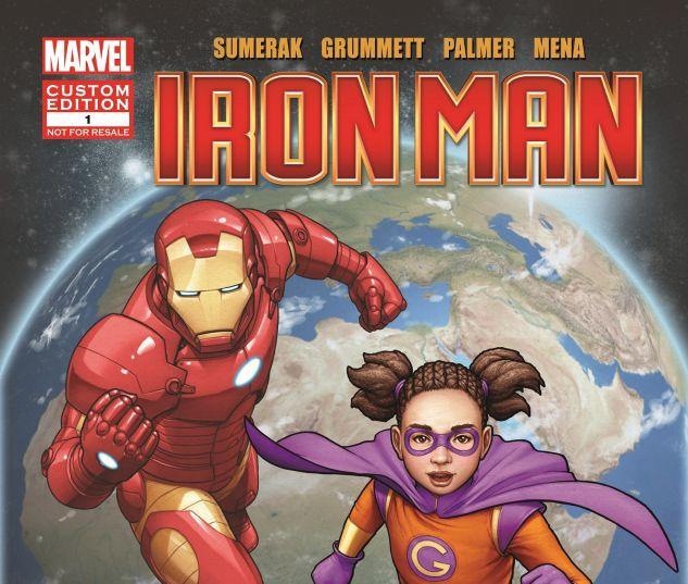 "Iron Man & Globalita En ""Unidos Resistimos"" #1"