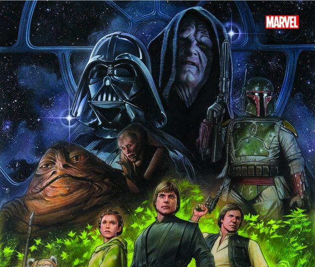 Star Wars: Episode VI Return of the Jedi OGN cover by Adi Granov