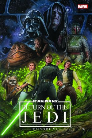Star Wars: Episode VI - Return of the Jedi (Hardcover)