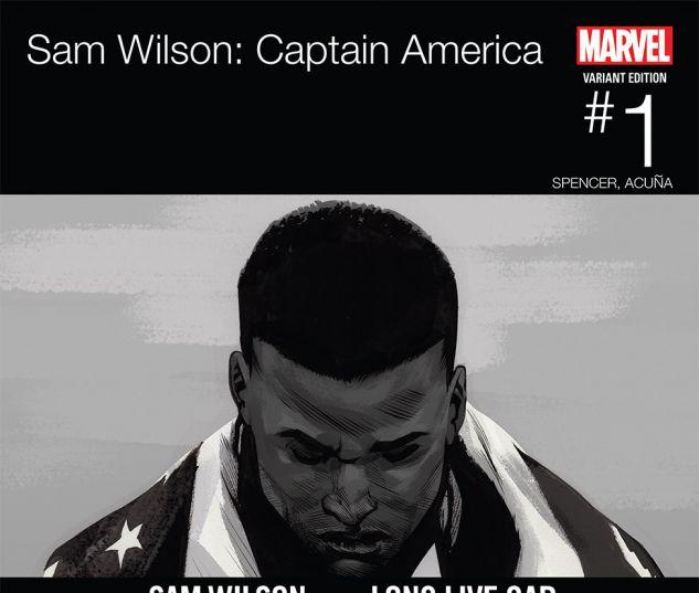 CAPTAIN AMERICA: SAM WILSON 1 ASRAR HIP-HOP VARIANT (WITH DIGITAL CODE)