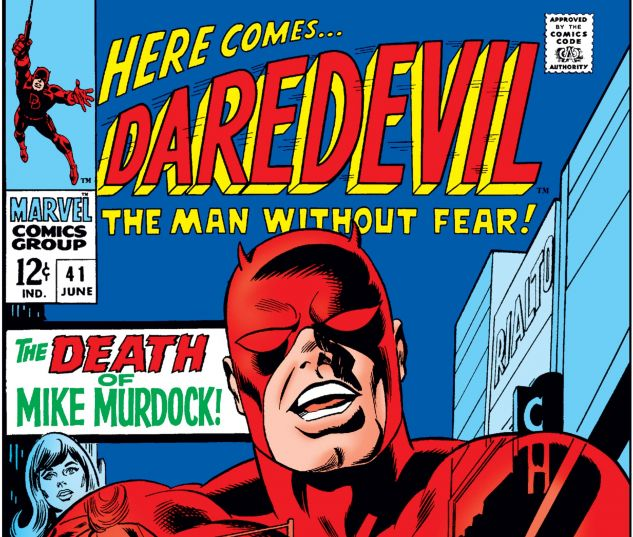 DAREDEVIL (1964) #41 Cover