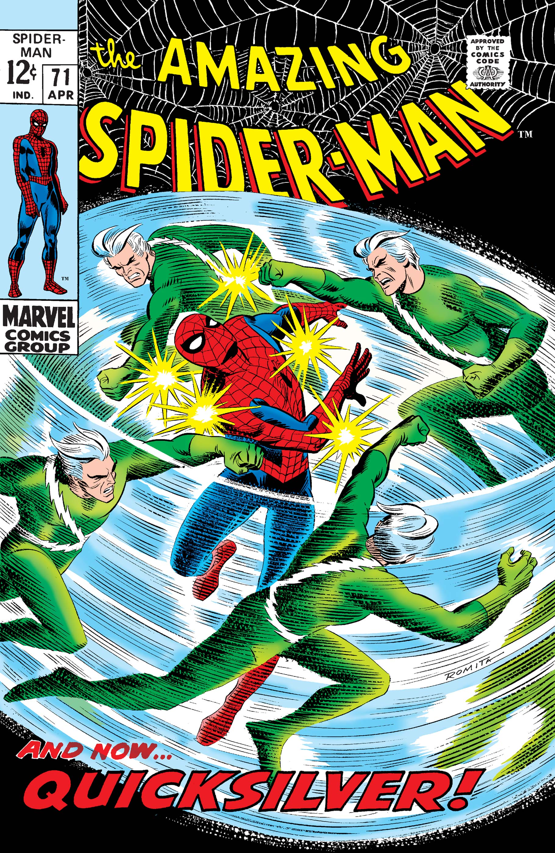The Amazing Spider-Man (1963) #71