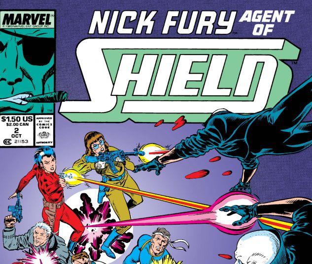 Nick Fury, Agent of Shield (1989) #2