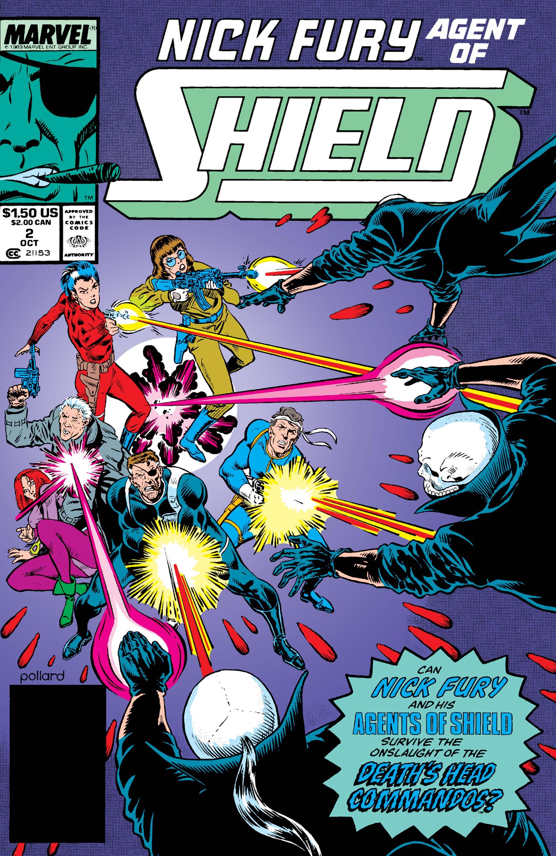Nick Fury, Agent of S.H.I.E.L.D. (1989) #2