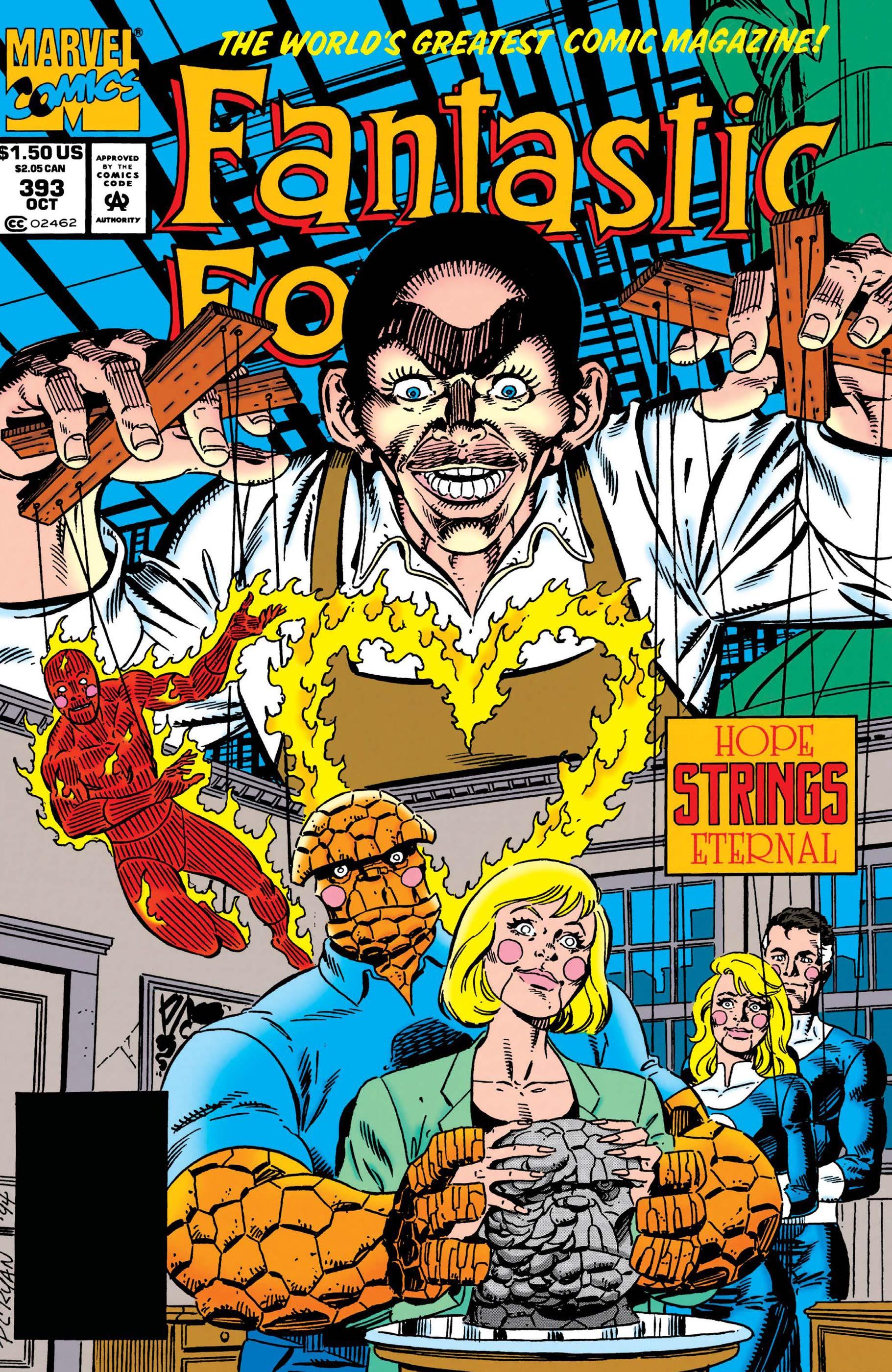 Fantastic Four (1961) #393