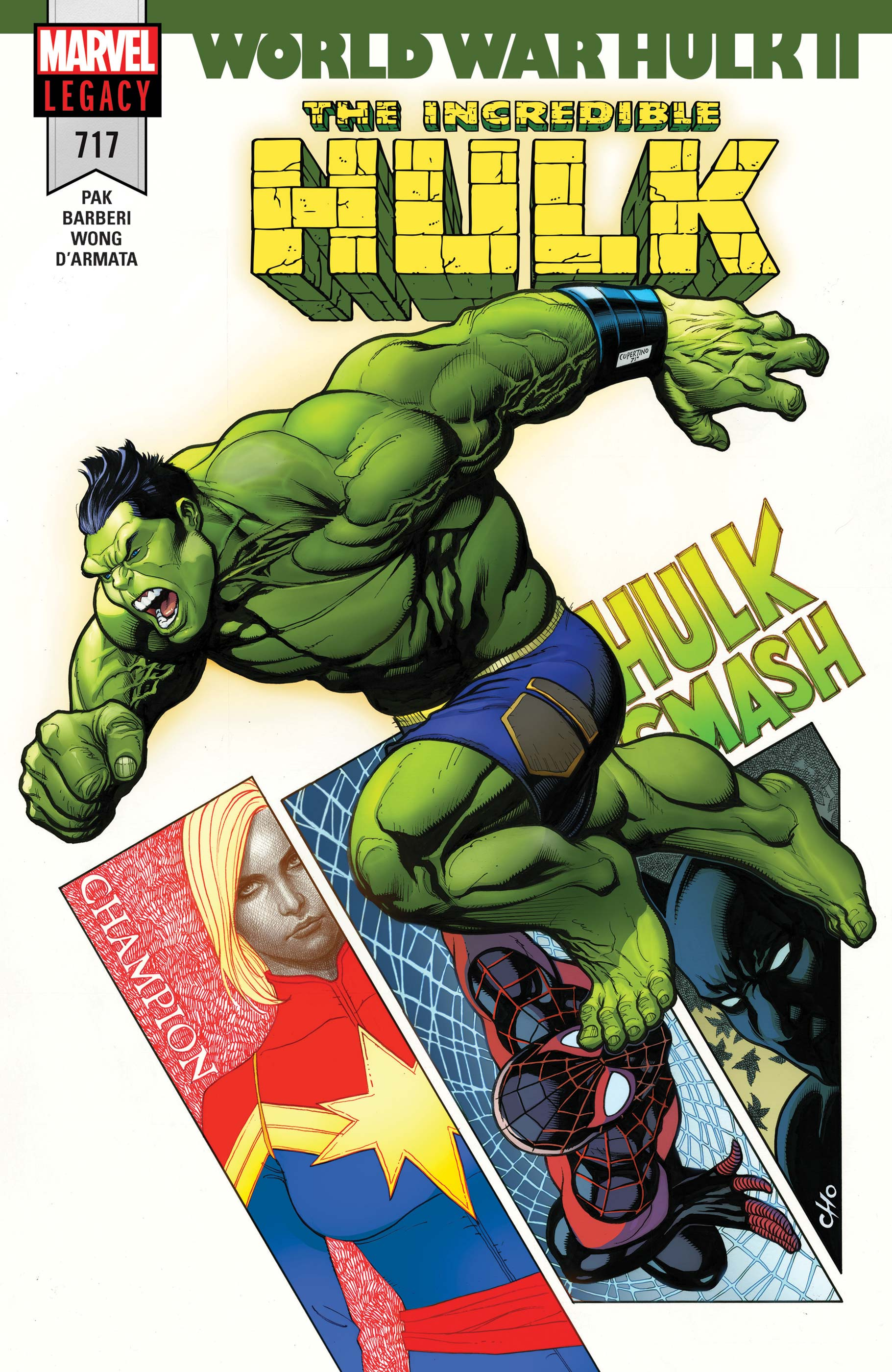 Incredible Hulk (2017) #717