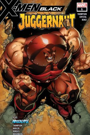 X-Men: Black - Juggernaut #1