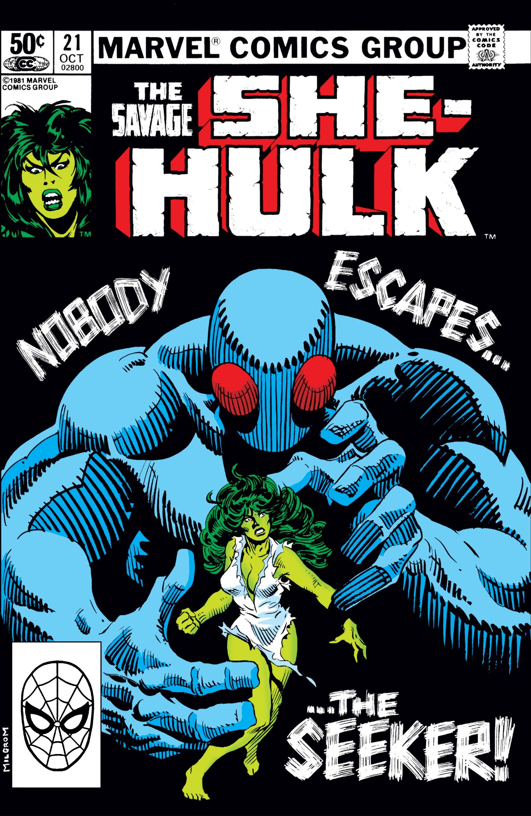 Savage She-Hulk (1980) #21