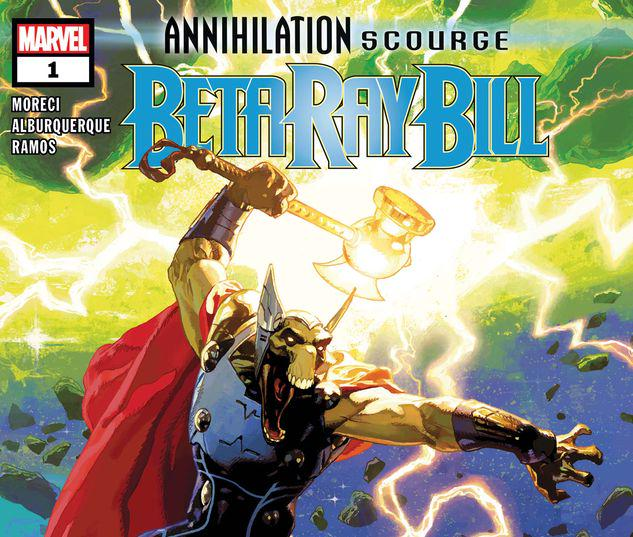 ANNIHILATION - SCOURGE: BETA RAY BILL 1 #1