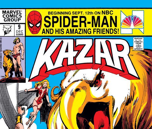 Ka-Zar the Savage #9