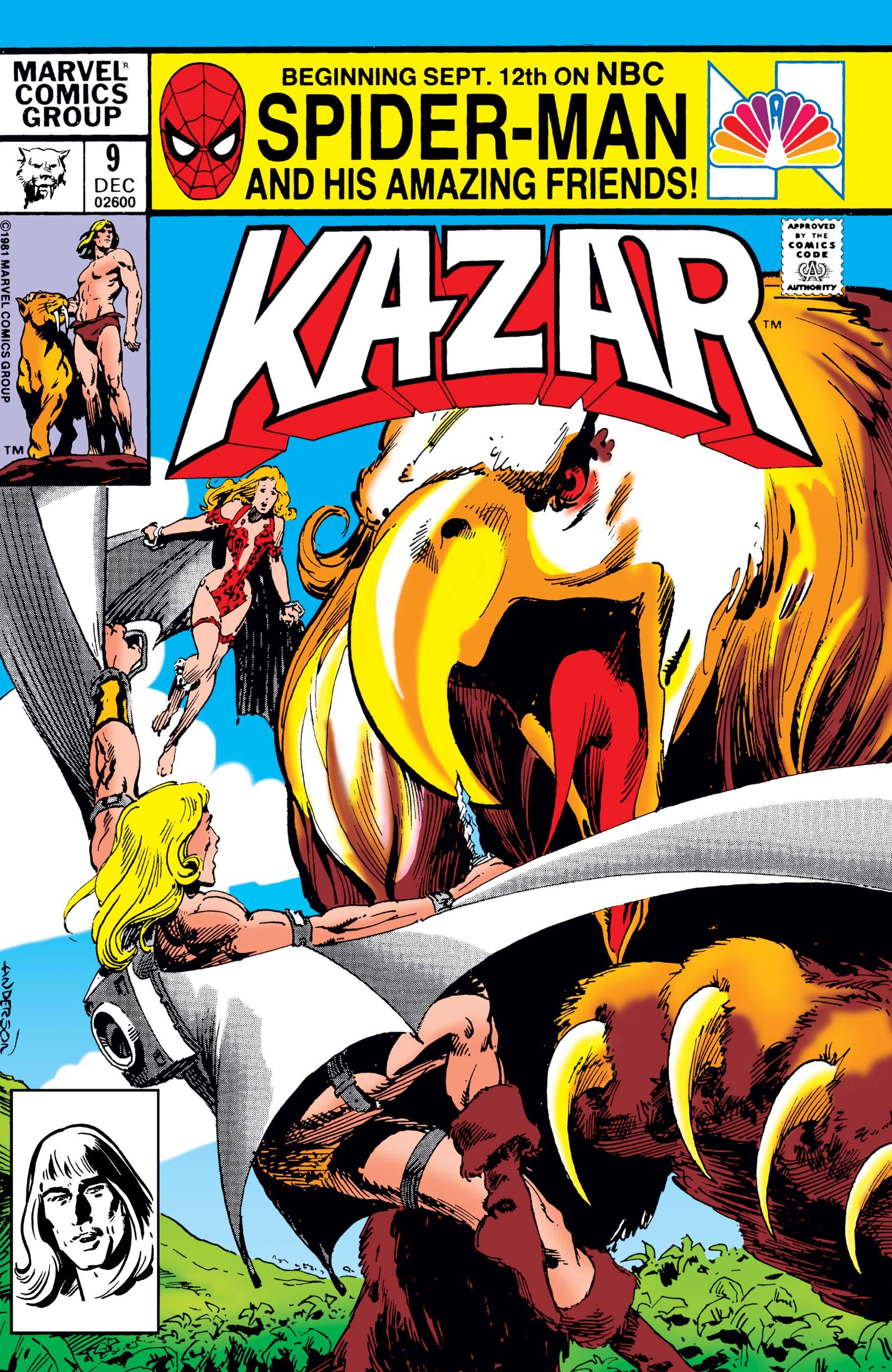 Ka-Zar (1981) #9
