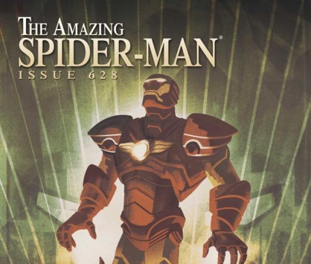 Amazing Spider-Man (1999) #628 (IRON MAN BY DESIGN VARIANT)