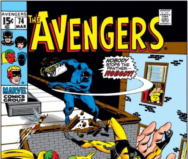AVENGERS #74 COVER