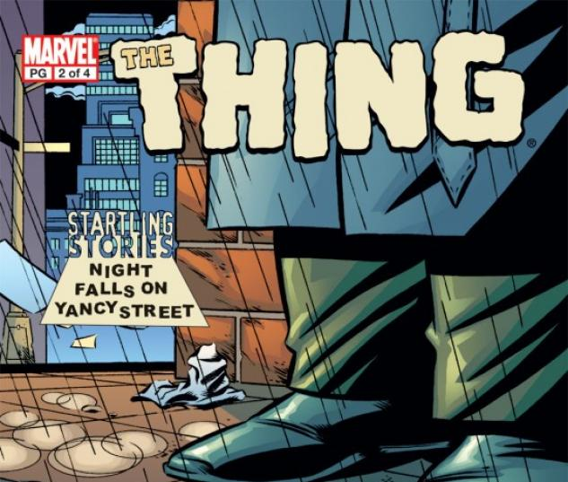 Startling Stories: The Thing - Night Falls on Yancy Street #2