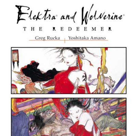ELEKTRA & WOLVERINE: THE REDEEMER HC COVER