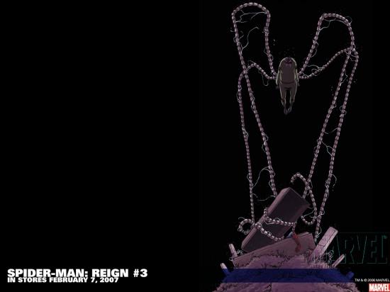 Spider-Man: Reign (2006) #3 Wallpaper