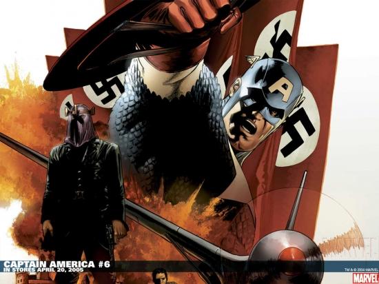 Captain America (1996) #6 Wallpaper