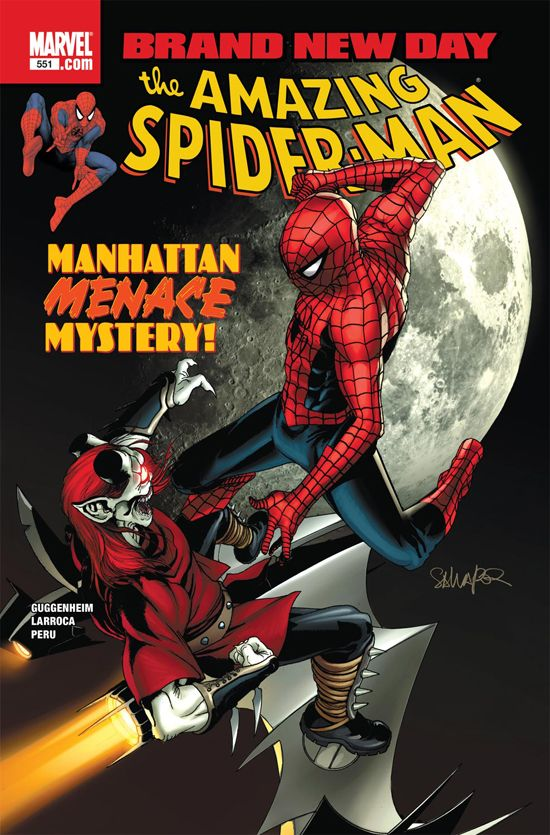 Amazing Spider-Man (1999) #551
