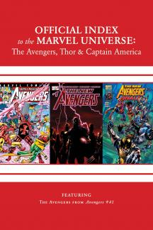 Avengers, Thor & Captain America: Official Index to the Marvel Universe #15