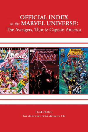 Avengers, Thor & Captain America: Official Index to the Marvel Universe (2011) #15