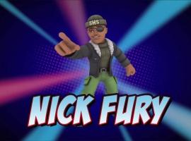 Super Hero Squad Online: Nick Fury Vignette